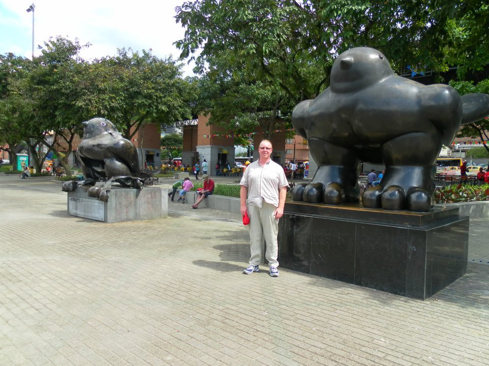Botero sculptures in Medellin, Colombia
