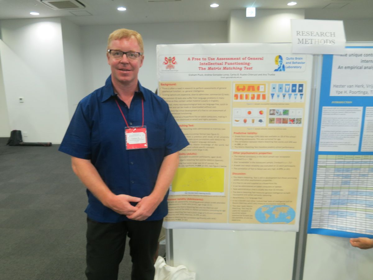 International Association for Cross Cultural Psychology Conference, Nagoya, Japan, 2016