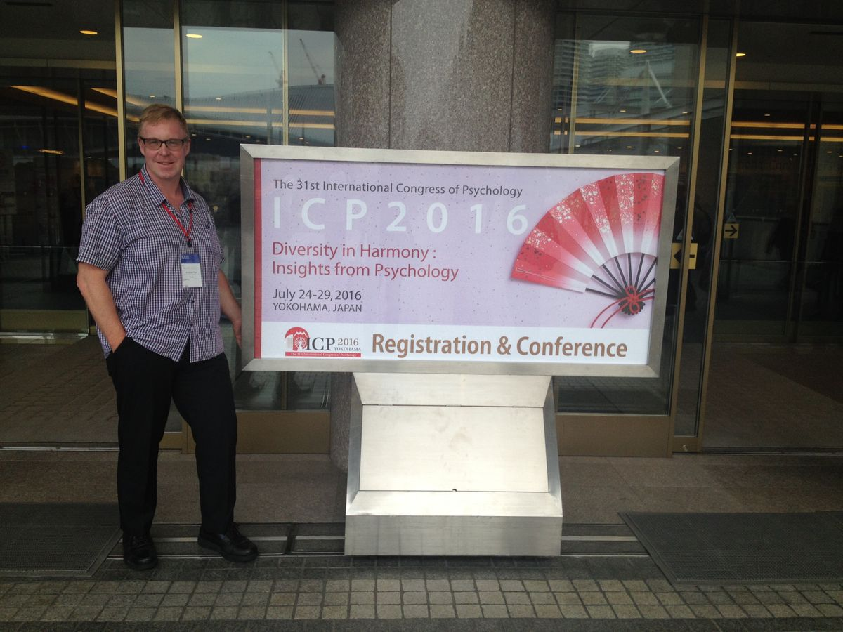 International Congress of Psychology, Yokohama, Japan, 2016